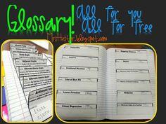 Mrs. Hester's Classroom : Glossary: FREEBIE!!