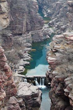 Tag 6: #Yuntaishan-Geopark von oben #Henan