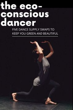 Want to be a green dancer? Consider investing in eco-friendly dance supplies such as vegan dance shoes, organic dancewear and secondhand costumes. Gaynor Minden, Sustainable Food, Sustainable Living, Dance Supplies, Alternative To Plastic Bags, Dance Tips, Contemporary Dance, Dance Fashion, Vegan Shoes