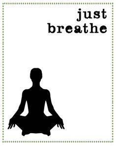 Breathe like a child, it's healthy :)