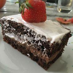 Gâteau au chocolat - génoise et mousse au chocolat