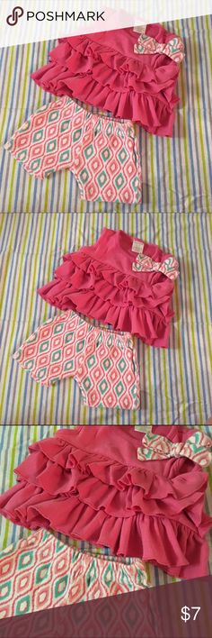 3/6 months baby girl outfit Super cute outfit   3/6 months baby girl  Smoke & pet free home Matching Sets