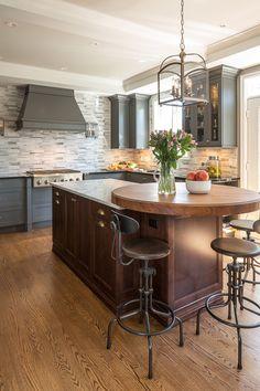 Traditional Elegant, yet Masculine Kitchen Remodel by Astro Design Centre. Ottawa Canada #kitchen #remodel #kitchenremodel #interiordesign