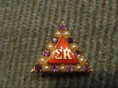 NPC Sorority Badges: Amethyst