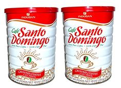Santo Domingo 100 Pure Ground Coffee Vacuum Packed Can 10 Oz Pack of 2 -- To view further for this item, visit the affiliate link Amazon.com.