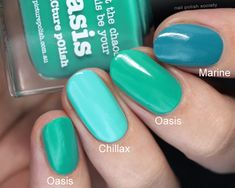Nail Polish Society>> piCture pOlish Spring 2017 Releases + Comparisons