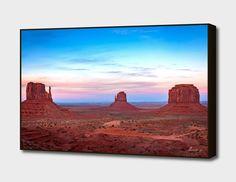 Sunset at Monument Valley main illustration