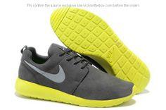 the latest 3e2e0 d77e2 Nike Roshe Runs For Sale Wolf Grey Volt Metallic Sliver 511881 003 Roshe Run  Shoes,