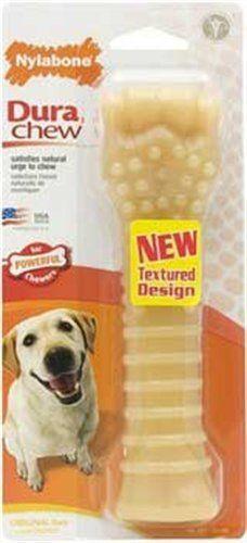 Nylabone Dura Chew Souper Original Flavored Bone Dog Chew Toy - http://weloveourpugs.net/?product=nylabone-dura-chew-souper-original-flavored-bone-dog-chew-toy