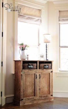 #DIY Console Table at ... So cheap and cute!