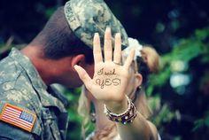 Military engagement photo