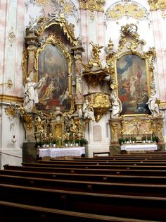 Basilika Ettal - Seitenaltar (1)