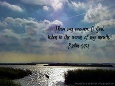 Psalm 54:2...