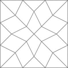 Quilt examples using the Diamond Star block.