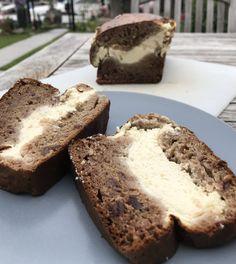 Cheesecake bananenbrood – Judoka Margriet Bergstra Banana Bread, Oven, Breakfast, Desserts, Food, Vanilla, Morning Coffee, Tailgate Desserts, Deserts