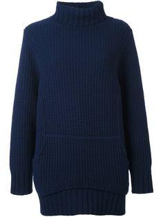 CHALAYAN chunky knit jumper. #chalayan #cloth #jumper