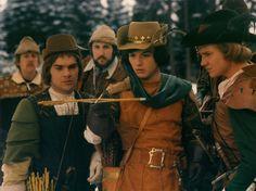 The Prince and his buddies / Der Prinz und seine Kumpels Guy Friends, Alain Delon, Movie Costumes, Costume Design, Future Husband, Cowboy Hats, Fairy Tales, Cinderella, Guys