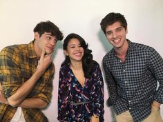I'm surrounded by hot guys *look effortlessly sexy* Foster Cast, Adam Foster, Foster Family, Best Tv Shows, Favorite Tv Shows, Movies And Tv Shows, David Lambert, Greenhouse Academy, Cierra Ramirez