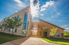 """From Saint Charles Community College """"It's nothing but blue skies and sunshine this morning on campus."""""""