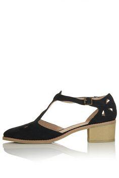 MINI Block Heel T-Bar Shoes - View All  - Shoes