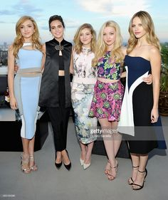 Actresses Peyton List, Bailee Madison, Willow Shields, Dove Cameron and Halston Sage attend Teen Vogue x Simon BTSS Kick-off Dinner on August 2015 in Los Angeles, California. Dove Cameron, Peyton List Modeling, Emma Ross, Willow Shields, Payton List, Disney Actresses, Bailee Madison, Disney Cast, Disney Stars