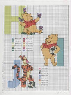 pooh alphabet