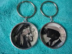Disney inspired The Lone Ranger Johnny Depp Armie Hammer upcycled bff keychains by ImAsMADaSaHaTTeR, $15.00