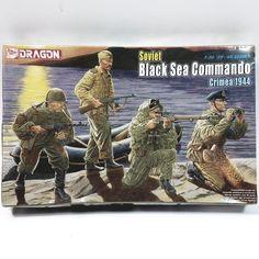 Dragon Models Soviet Black Sea Commando Crimea 1944 1/35 Model Kit