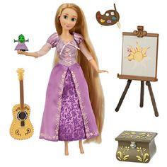 "Disney Princess Tangled  11"" Rapunzel Deluxe Talking Doll Set NIB #Disney"