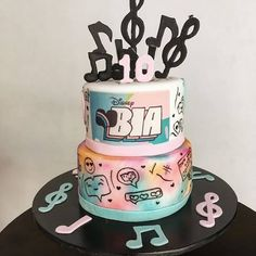 Girl Birthday, Birthday Cake, Birthday Parties, Disney Channel, Channel Cake, Teen Cakes, Cooking, Desserts, Food