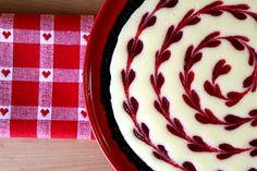Cranberry Lemon Cheesecake (from A Cup of Sugar… A Pinch of Salt)