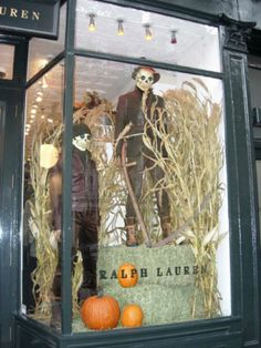 Ralph Lauren Halloween Window Display, 2007. Mannequin Madness Can Provide  All Of Your Distressed