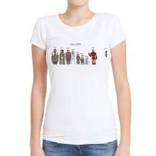 Hiver IS HERE Manches Longues Shirt House Stark Game of Thrones Long Manche Winterfell