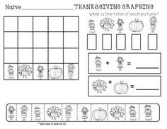 DIFFERENTIATED THANKSGIVING MATH CENTER ACTIVITIES {ALIGNED WITH COMMON CORE}  $