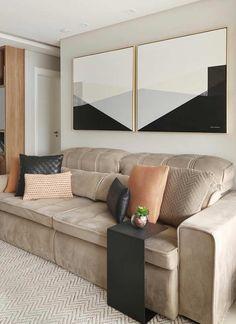 Duo de quadros decorativos com encaixe perfeito