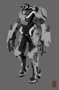 FireFall Battleframe Concept Art - FirstPersonShooters.net