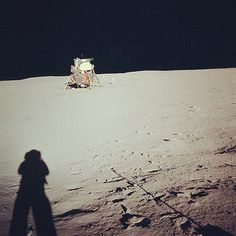 The world mourned the end of an era with the death of Neil Armstrong. The first man to walk on the moon took this picture of the Apollo 11 Lunar Module on 21 July 1969