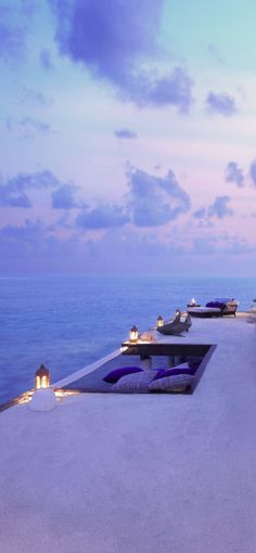 Enjoy the epic view from the Taj Exotica in the Maldives.