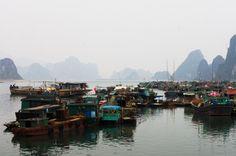 Cai Rong harbor, Vietnam