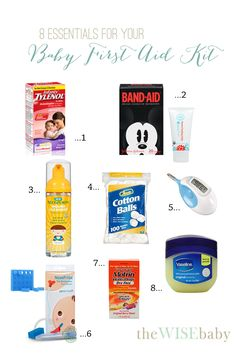 Essentials for you Baby First Aid Kit!