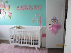Aubrey S Tiffany Blue And Pink Owl Nursery