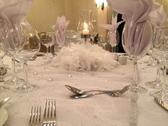 White Party table details