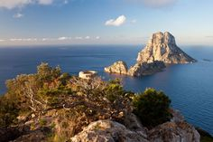 Ibiza is a magical island with healing and illuminating energy. Amazing nature to reconnect yourself and find rest. Spanish Islands, Mystical World, Magic Island, Ibiza Beach, Ibiza Spain, Organic Wine, Pretty Images, Rock Island, I Want To Travel