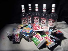 Best Jello shots tons and tons of ideas and a lot of them are great. Check out the halloween page it has a lot more.