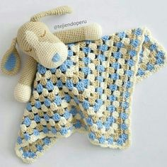 Watch This Video Incredible Crochet a Bear Ideas. Cutest Crochet a Bear Ideas. Crochet Lovey, Crochet Bedspread, Crochet Stars, Manta Crochet, Love Crochet, Crochet For Kids, Crochet Dolls, Snuggle Blanket, Lovey Blanket