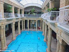 Main pool of Gellért Baths, Budapest
