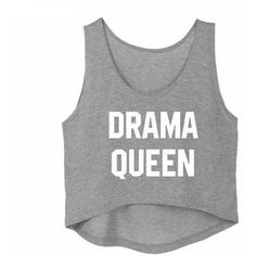 DRAMA QUEEN CROP TOP SUMMER (£3.74) ❤ liked on Polyvore featuring tops, crop tops, cropped tops, summer crop tops, cut-out crop tops and summer tops