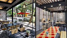 Aydınlatma ve Dekor Dünyasından Gelişmeler: Chadios+Associates'den Atina'da Goody's Burger House #aydinlatma #lighting #design #tasarim #dekor #decor