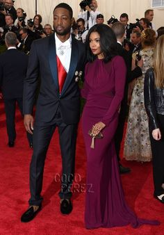 Met Gala 2015: Dwyane Wade and Gabrielle Union walk the red carpet!