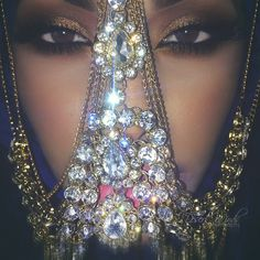 "desertwinds: "" Diamonds are forever My diamond face veil will be on my jewelry site soon! :) "" Flyestfemales"